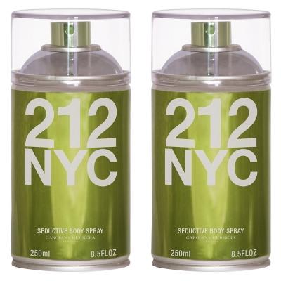 Perfume 212 NYC Vintage Body Spray 250 ML X 2