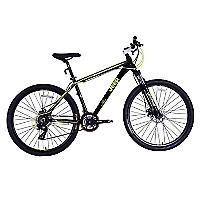 Bicicleta Aro 27.5 Vesubio Negro Amarillo
