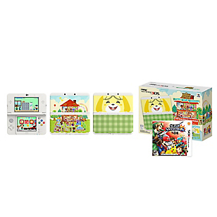 Consola 3DS Animal Crossing + Super Smash Brothers