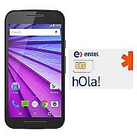 Smartphone Moto G 3era Generación Negro + SIM Card Entel Prepago