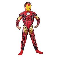 Disfraz Assemble Ironman Deluxe