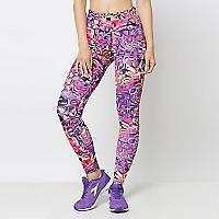 Calza Mujer Tightprint.com Morada