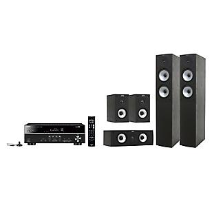 Receiver RX-V 381 + Parlantes Jamo S 526 Black