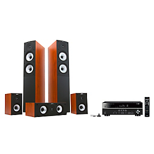 Receiver RX-V 381 + Parlantes Jamo S526  Dark Apple
