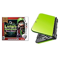 Consola 3DS XL + Juego Luigui's Mansion Dark Mans