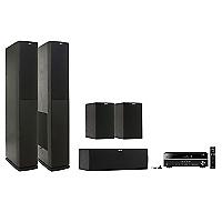 Receiver RX-V 381 + Parlantes Jamo S626 Black