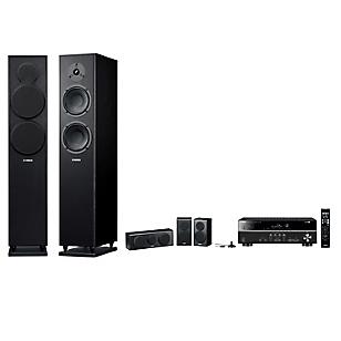 Receiver RX-V 381+ Parlantes NSF150 + Surround-Central NSP150