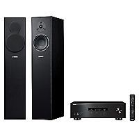 Receiver Stereo Rs202 Bt + Columnas Ns-F140