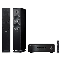 Receiver Stereo Rs202 Bt + Columnas Ns-F150