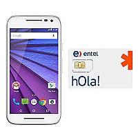 Smartphone Moto G 3era Generación Blanco + SIM Card Entel Prepago