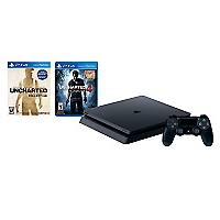 Consola PS4 500GB SLIM + Juego Uncharted 4 + Juego Uncharted Collection