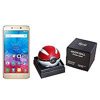 Smartphone Vibe K5 Dorado Liberado + Powerbank Pokebola Magic 6,000 mAh