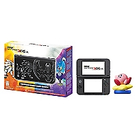 Consola 3DS XL Solgaleo Lunala Black Edition + Amiibo Kirby Series