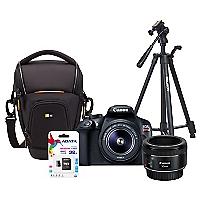 Combo T6 + Lente EF 50mm + Bolso + Trípode + 32GB