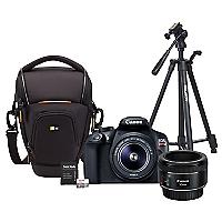 Combo T6 + Lente EF 50mm + Bolso + Trípode + 64GB