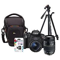 Combo T5i + Lente Tamron AF 70-300mm + Bolso + Trípode + 32GB