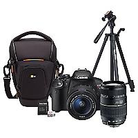 Combo T5i + Lente Tamron AF 70-300mm + Bolso + Trípode + 64GB