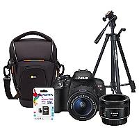 Combo T5i + Lente EF 50mm + Bolso + Trípode + 32GB