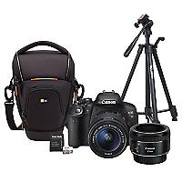 Combo T5i + Lente EF 50mm + Bolso + Trípode + 64GB