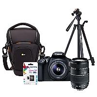 Combo T6 + Lente Tamron AF 70-300mm + Bolso + Trípode + 32GB
