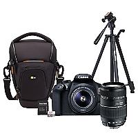 Combo T6 + Lente Tamron AF 70-300mm + Bolso + Trípode + 64GB
