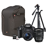 Combo T5i+ Lente EF-S 10-18mm  + Mochila Pro + Trípode + 64GB