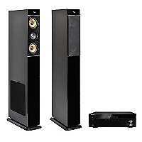 Receiver Stereo 4508 Bluetooth + Parlante Aspect Stereo