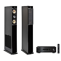 Receiver Stereo RS202 BT + Parlante Aspect Stereo