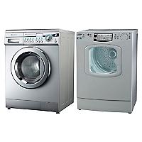 Lavadora Automática 7,2 kg + Secadora Eléctrica 6 kg
