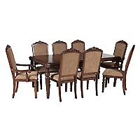 Juego de Comedor Notting Hill 6 sillas + 2 sitiales