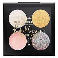 Paleta de Maquillaje Dazzle Shadow X 4