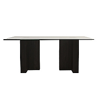 Mesa de comedor doble T 19MM
