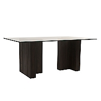 Mesa de comedor doble T 15MM