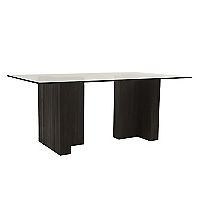 Mesa de comedor doble T 12MM