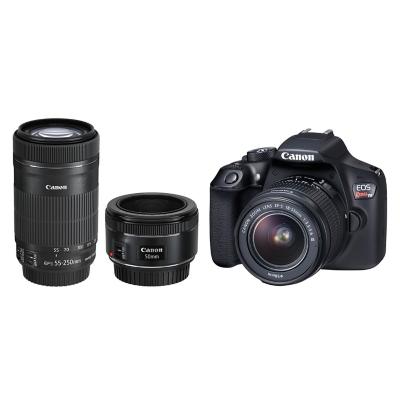 Cámara T6 + Lente 18-55 + 55-250 + 50mm