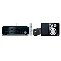 Receiver RN402 + Parlante NS6490 + Altavoz WX030B Musiccast