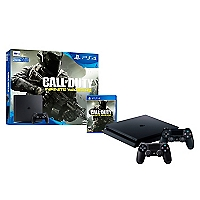 Consola PS4 SLIM 500GB + Call Of Duty IW + 2 Controles