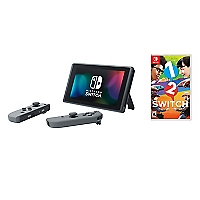 Consola Switch With Gray Joy-Con + Juego 1-2 Switch