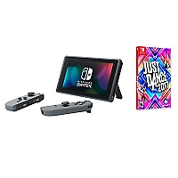 Consola Switch With Gray Joy-Con + Just Dance 2017 Switch