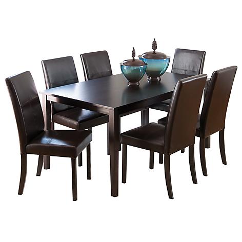 Mica juego de comedor pettega 6 sillas for Tapiz para sillas de comedor