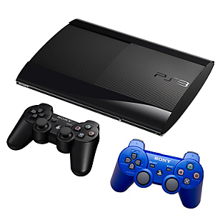 Consola PS3 250GB + 2 controles + juego a elección