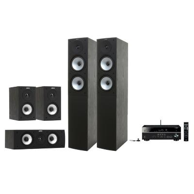 Combo Receiver Yamaha RX-V 481 + Parlantes Jamo S 526  BLACK