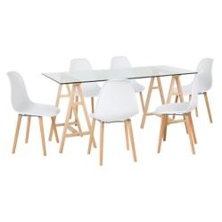 Nuevo for Comedor 4 sillas falabella
