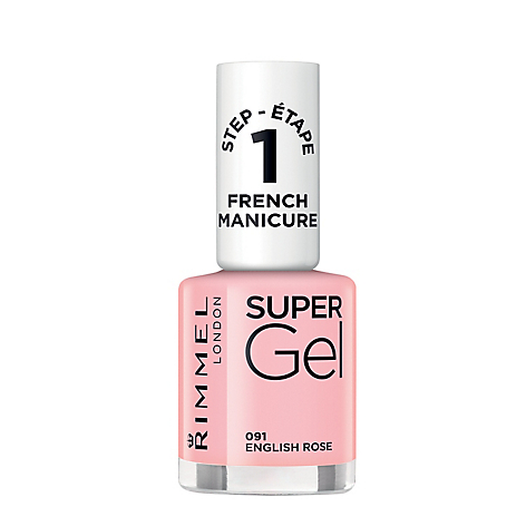Supergel French manicure english