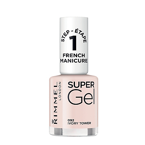 Supergel French manicure english tow