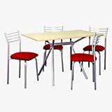 Juego de mesa mirage + 4 sillas