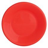 Plato Hondo Clásico Rojo