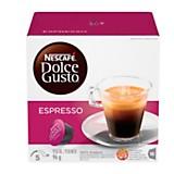 Pack de 16 cápsulas espresso Dolce Gusto