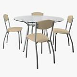 Juego de mesa Sofía + 4 sillas