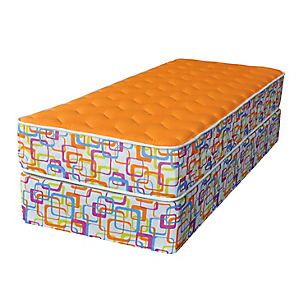 Juego foam orange europeo 80 x 190 cm